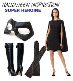 """""""Halloween Inspo - Super Heroine"""" by edressme ❤ liked on Polyvore featuring Masquerade, Adrianna Papell, Lanvin, women's clothing, women's fashion, women, female, woman, misses and juniors"""