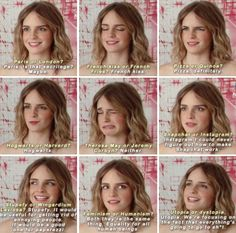 Emma Watson love her feel her so much hahahaha Harry Potter Cast, Harry Potter Universal, Harry Potter Fandom, Harry Potter Memes, Emma Thompson, Albus Dumbledore, Emma Watson Quotes, Emma Watson Funny, Hogwarts