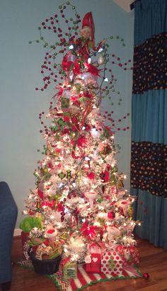 Elf Christmas Tree by Sharpe Designs