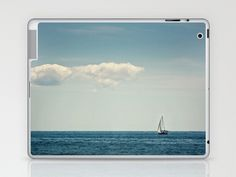 Sail Laptop & iPad Skin by Brandy Coleman Ford - $25.00