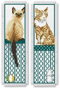 Leisure Arts Bookmark Medley - Cross Stitch Pattern. Bookmark Medley presents 14…