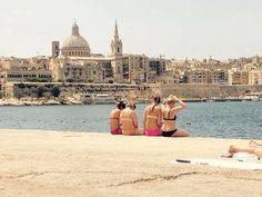 Throwback til #malta i fjor. #EF #efmoment #valetta #sliema #summer #hot #ancient #ocean #bikini #travel #explore #visitmalta
