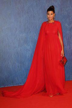 Venice Film Festival 2016: Red Carpet Giovana Battaglia-Englebert in Giambattista Valli
