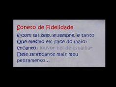 Eu sei que vou te amar Vinícius de Moraes