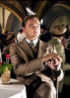 Leonardo DiCaprio as Jay Gatsby at The Angry Diamond Club. Gatsby Man, Jay Gatsby, Gatsby Style, Gatsby Party, 1920s Party, 1920s Wedding, Party Wedding, Gatsby Movie, Gatsby Theme