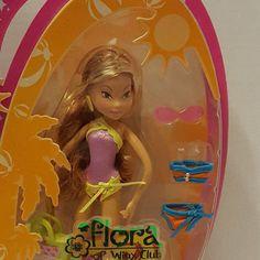RARE! Flora Original WINX CLUB doll by Mattel from 2004 NOS. Barbie, Fairy #Mattel #WinxClubDollSet