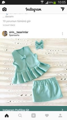 Shop Flounce Bardot Top And Bow Front Skirt Set online. SheIn offers Flounce Bardot Top And Bow Front Skirt Set & more to fit your fashionable needs. Frocks For Girls, Kids Frocks, Dresses Kids Girl, Kids Outfits, Girls Frock Design, Baby Dress Design, Fashion Kids, Baby Girl Fashion, Baby Frocks Designs