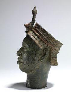 Yoruba Brass Head, Ife, Nigeria