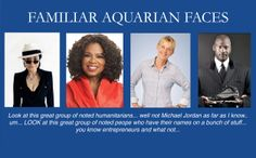 Aquarius faces, twarze Wodników, wygląd Wodnika, #Wodnik, astrologia, słynne Wodniki