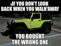 So true. Not to mention when you get off work after a crappy day and you see your jeep. It just makes you smile Jeep Mods, Jeep Tj, Jeep Rubicon, Jeep Wrangler Jk, Jeep Truck, Jeep Wrangler Unlimited, Jeep Wrangler Quotes, Pickup Trucks, Wrangler Accessories