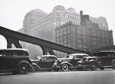The Mart, Chicago, 1936 by John Gutmann.