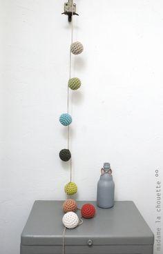 Guirlande boules