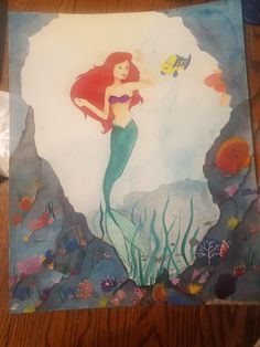 Underwater watercolor 16x20 http://ift.tt/2kPMzDt