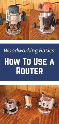 use a router, but don't know where to start? Learn how to use a router with these router woodworking techniques and tips.Want to use a router, but don't know where to start? Learn how to use a router with these router woodworking techniques and tips. Woodworking Basics, Router Woodworking, Learn Woodworking, Easy Woodworking Projects, Popular Woodworking, Woodworking Techniques, Diy Wood Projects, Woodworking Furniture, Carpentry Projects