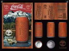 Association de Coca-Cola et de Timberland Création graphicshop.fr