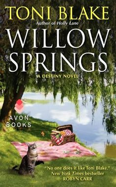 Willow Springs ($1.99 Kindle, B), the fifth romance in the Destiny series by Toni Blake [HarperCollins].