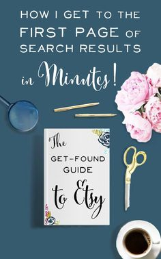 Great tips here on Etsy SEO.  It's one of the best ways to consistently get in front of your ideal customer and make more sales.  Love this guide - perfect advice for any Etsy seller.  Etsy marketing, the business of Etsy, Etsy Success.