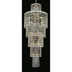 Add a touch of class to your home with a classic crystal, brass, gold or antique chandelier. Hallway Chandelier, Antique Chandelier, Brass, Ceiling Lights, Crystals, Lighting, Antiques, Lights
