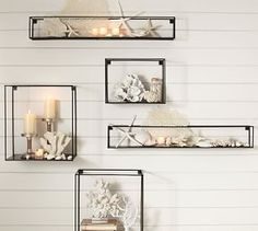 Cube Display Shelves #Pottery Barn
