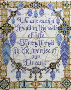 ☮ American Hippie Quotes Art ~ Dreamcatcher .. Native - Promise of our dreams