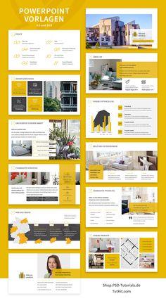 9c4000ddff6625 Immobilien-Marketing  Hochwertige Corporate Design-Vorlagen