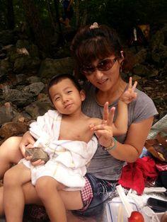 할머니와 물놀이  (2012.8.12)