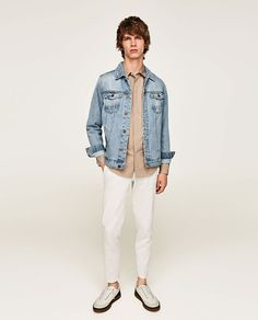 ZARA - MAN - BASIC DENIM JACKET