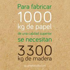 Papel Reciclado. #reciclaje #ecologia