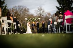 Fall colors at the Brandywine Manor House for Jeff and Amanda's wedding Lake View, Beautiful Gardens, Photo Credit, Pond, Amanda, Pergola, In This Moment, Photography, Wedding