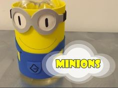 DIY.: Minions c. Garrafa PET - Recycled Art