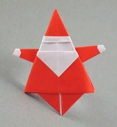 Origami Maniacs: Origami Santa Claus by Yukihiro Matsuno