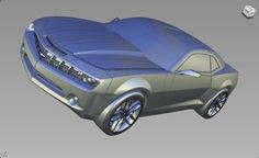 Chevrolet Camaro 3D Alias Model