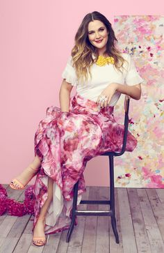 Drew Barrymore's Journey From Child Star to Fearless Entrepreneur. Cover Story for May 2016 Good Housekeeping