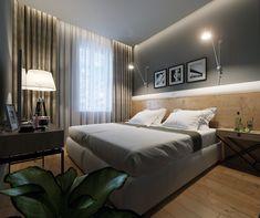 Hotel Bedrooms, Autodesk 3ds Max, Adobe Photoshop, Interior Design, Architecture, Furniture, Home Decor, Corona, Nest Design