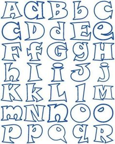 Funky Alphabet of both upper case & lower case letters.- Funky Alphabet of both upper case & lower case letters. Funky Alphabet of both upper case & lower case letters. Alphabet A, Fonte Alphabet, Hand Lettering Alphabet, Doodle Lettering, Graffiti Lettering, Calligraphy Letters, Cool Fonts Alphabet, Bubble Letters Alphabet, Doodle Fonts