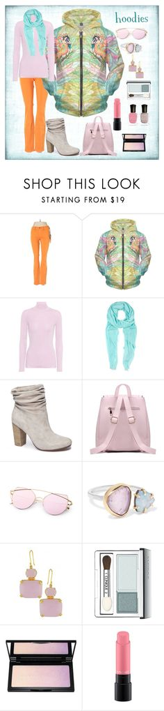 """pretty in pastels"" by debep ❤ liked on Polyvore featuring Henry & Belle, Prada, Furla, Chinese Laundry, Melissa Joy Manning, Clinique, MAC Cosmetics, Deborah Lippmann and Hoodies"