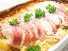 Kalkunbryst med fløde- og bouillonkartofler – Grill venner Grill, Tacos, Pork, Chicken, Meat, Kale Stir Fry, Pork Chops, Cubs