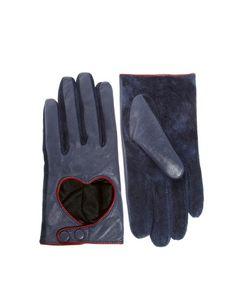 guantes cuero heart!