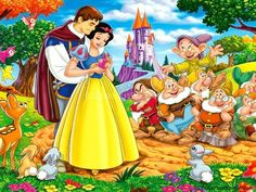 Disney Films, Disney Music, Disney Art, Disney Characters, Disney Songs, Disney Princess Snow White, Snow White Disney, Snow White Wallpaper, Hd Wallpaper