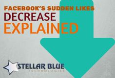 Has your Facebook page seen a significant drop in Likes recently? Don't panic, it's not your fault! Check out our latest Stellar blog to learn what has changed.