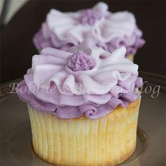 Fashion Inspired Ombre Buttercream Cupcake - CakesDecor