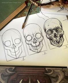 pencil drawings - White Tiger Poster Eyes Zazzle com Skeleton Drawings, Skeleton Art, Anatomy Art, Anatomy Drawing, Skull Anatomy, Tattoo Drawings, Art Drawings, Drawings Of Skulls, Art Tattoos