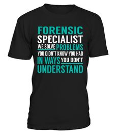 Forensic Specialist - We Solve Problem