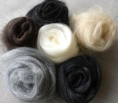 Merino Wool...great link to info on various spinning fiber