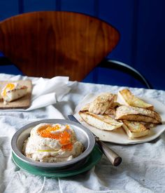 Australian Gourmet Traveller recipe for whipped cod roe by The Builders Arms in Melbourne.