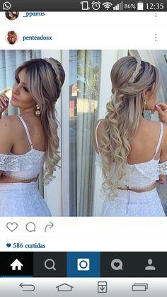 Backless, Dreadlocks, Long Hair Styles, Beauty, Dresses, Bao, Hair Ideas, Hairstyles, Fashion