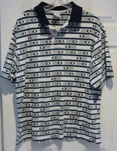 Columbia-Mens-Knit-Short-Sleeve-100-Cotton-Knit-Polo-Shirt-Size-Large