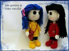 How To Crochet Coraline NEW VIDEO