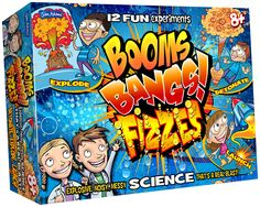 Buy Booms Bangs Fizzes Science Chemistry Set from Science Museum Shop: Buy Booms Bangs Fizzes Science Chemistry Set from Science Museum Shop: A fun, explosive chemistry set for children from all ages who like hands-on science! Chemistry Set, Science Chemistry, Stem Science, Science Experiments, Mad Science, Science Games, Science Toys, Styrene Sheets, Mulberry Bush