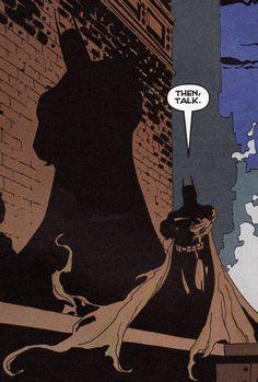 Batman by Tim Sale - Ben bu Tim Sale'in çizimleri seviyorum. Batman için güzel hikayeler oluşturdular.